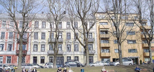 Το ΔΝΤ έχει προειδοποιήσει από το 2012 για απειλή δημιουργίας «φούσκας» στην αγορά κατοικίας της Νορβηγίας. Στη φωτογραφία, χαρακτηριστικές πολυκατοικίες στο Οσλο.